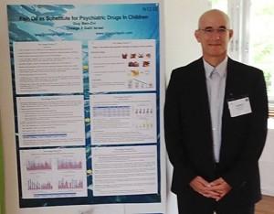 גיא מציג בכנס חוקרי השומן העולמי, שטוקהולם 2014