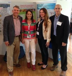 Joseph Hibbeln, Natalie Parletta, Rachel V. Gow, Guy Ben-Zvi שלושת השמאליים הם חוקרים מובילים בתחום הפסיכיאטריה, צולם בכנס -ISSFAL 2014 שטוקהולם
